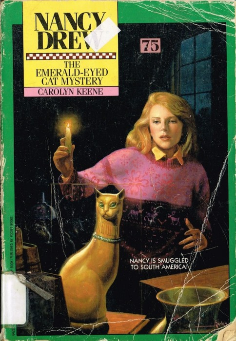 The Emerald Eyed Cat Mystery Nancy Drew